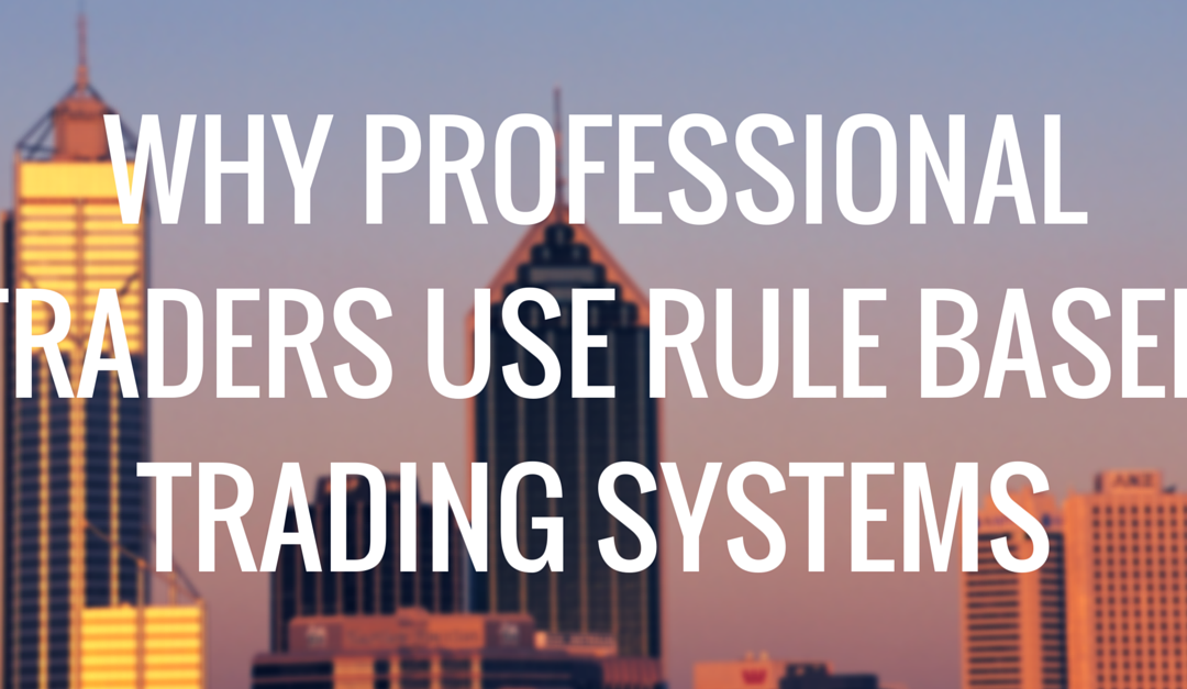 Professional forex trading rules
